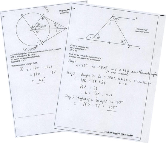 ks3 mathematics exam papers